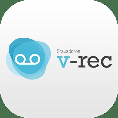 Logotipo dos Gravadores V-REC da Leucotron