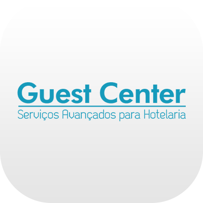 Logotipo do Guest Center da Leucotron