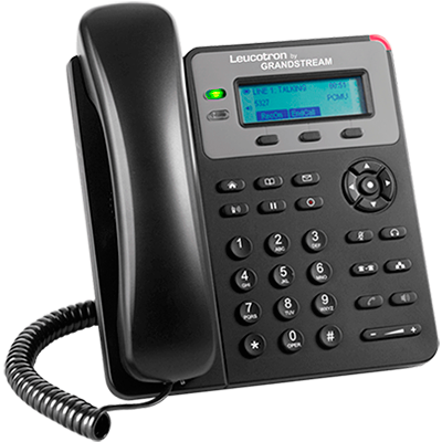 Imagem do terminal telefônico Leucotron by Grandstream GXP1610.