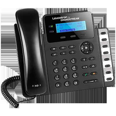 Imagem do terminal telefônico Leucotron by Grandstream GXP1628.