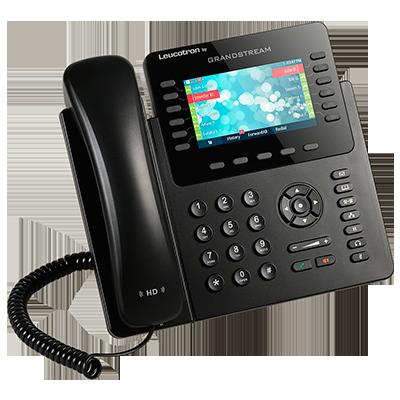 Imagem do terminal telefônico Leucotron by Grandstream GXP2170.