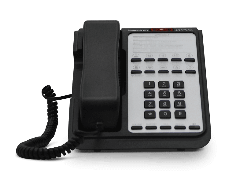 Imagem do terminal telefônico Orbit.fit.