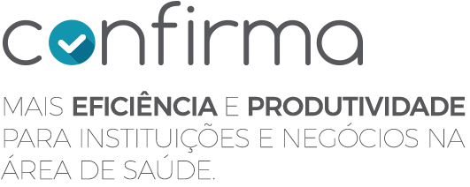 Logo do Confirmador de Consultas Confirma da Leucotron.