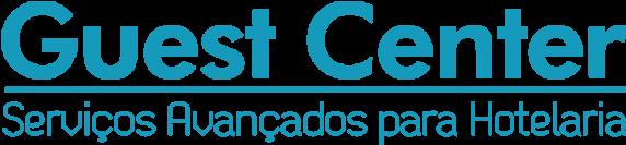 Logo do Guest Center da Leucotron.