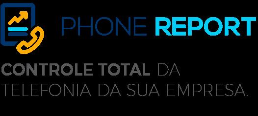 Logo do Phone Report da Leucotron.