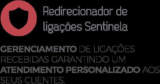 Logo do Redirecionador de Ligações Sentinela da Leucotron.